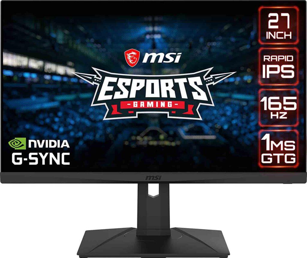 MSI Optix G273QPF Nvidia G Sync Monitor