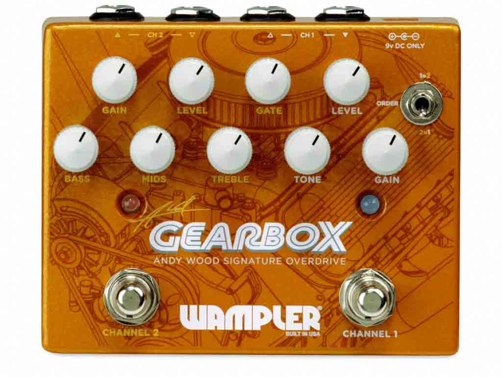 Wampler Gearbox Overdrive Pedal