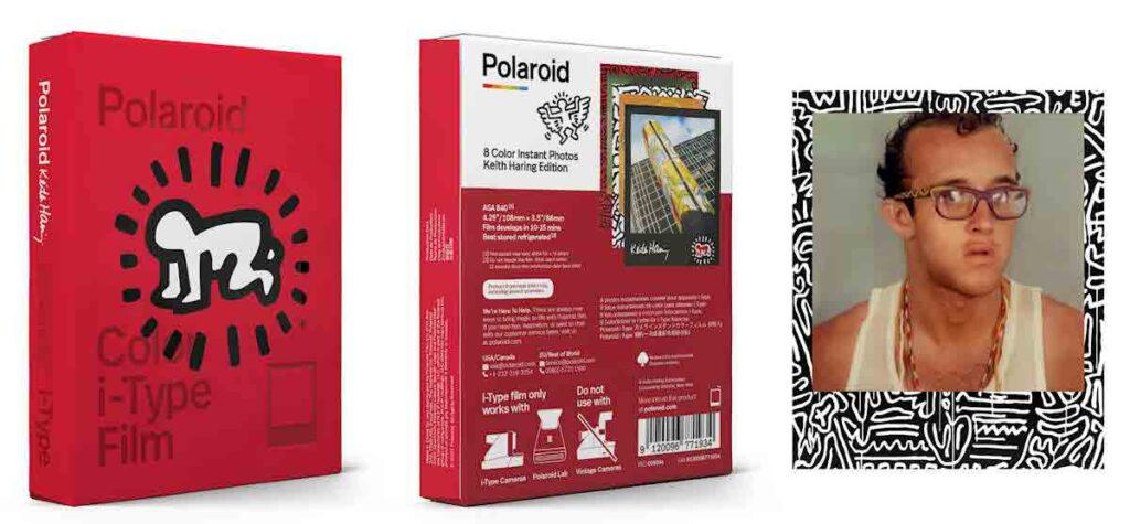 Polaroid Now Keith Haring artworks instant print camera