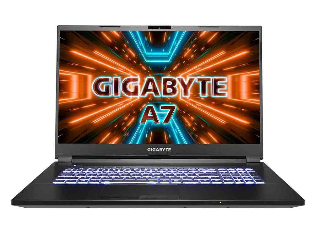 Gigabyte A7 X1 2021 Gaming Laptop