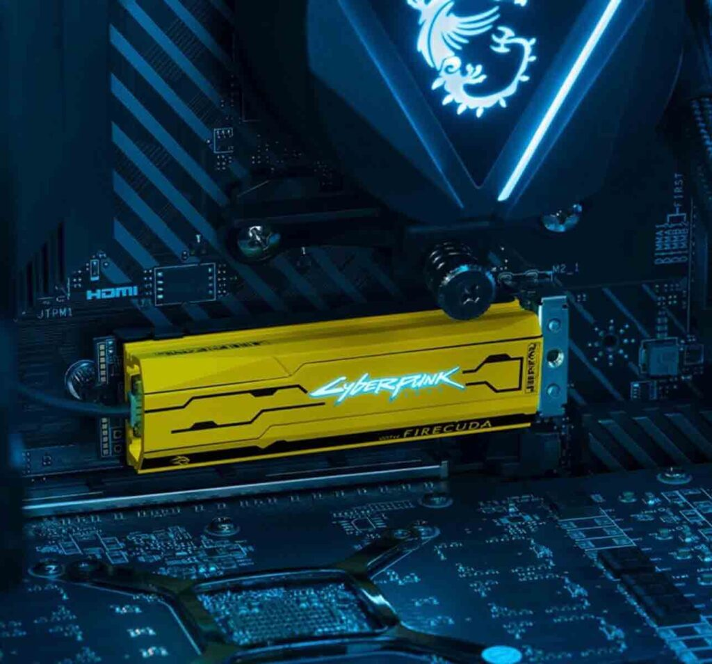 Seagate Cyberpunk 2077 Limited Edition 1TB Solid State Drive