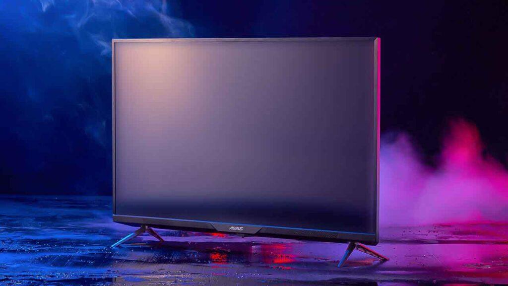 Gigabyte Aorus FO48U best 4K monitor for gaming
