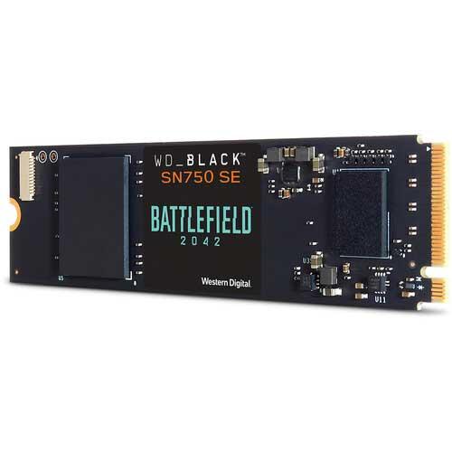 WD_Black SN750 SE Battlefield 2042 Gming SSD