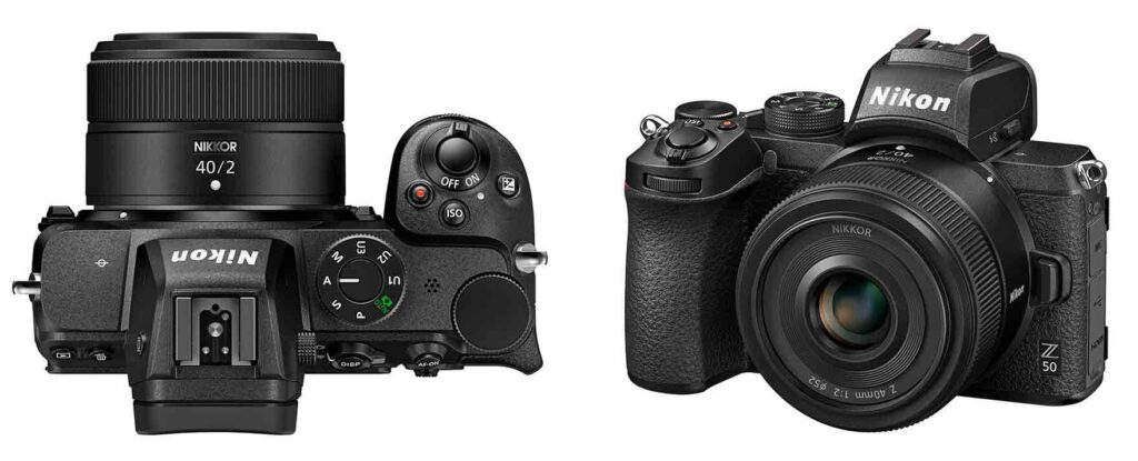 Nikon Nikkor Z 40mm f2 wide angle lens