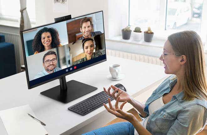 Samsung s40a webcam monitor