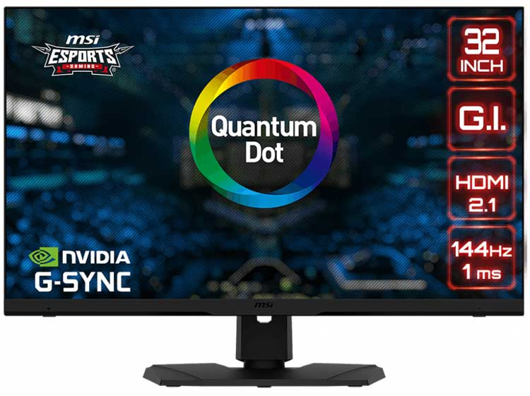 MSI Optix MPG321UR-QD gaming monitor 4K