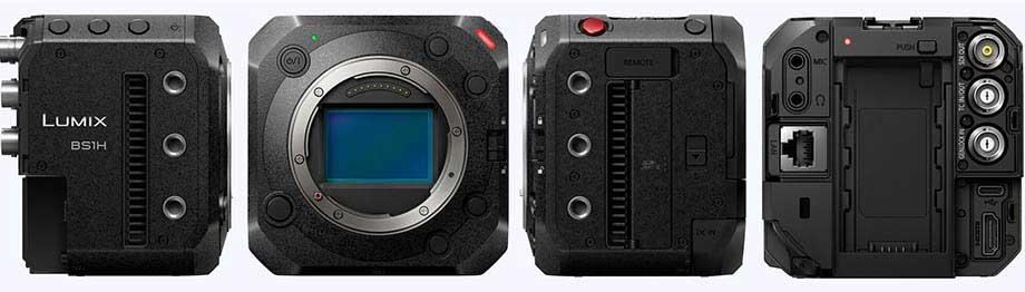 Panasonic Lumix BS1H full frame cinema live camera