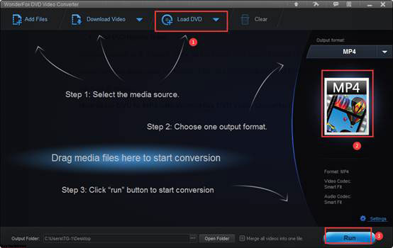 WonderFox DVD Video Converter DVD to MP